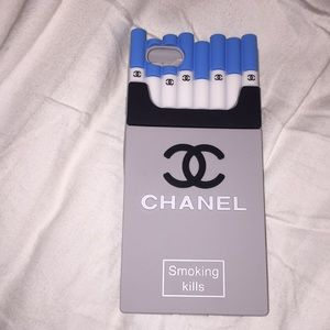 Chanel Smoking kills iPhone 6/6s phone case